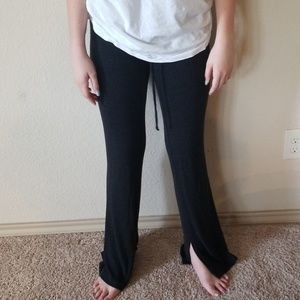Dark gray yoga/sweat pants